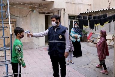 غربالگری بیماری کرونا - محله هرندی تهران