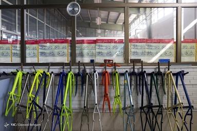 بزرگترین کارخانه دوچرخهسازی غرب آسیا