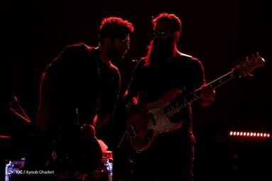 کنسرت گروه هوروش بند - جزیره کیش