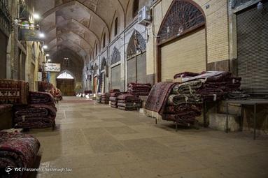 تعطیلی بازارسرپوشیده وکیل بدلیل در محدودیتهای جامع مشاغل - شیراز