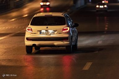 مخدوش کردن پلاک خودرو برای عبور و مرور شهری در ساعات طرح محدودیت تردد کرونا - اصفهان