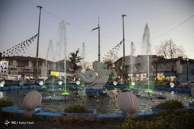 میدان گلسار رشت مزین به مجسمه اسب_ماهی که یک موجود افسانه ایست و فرمانروای دریاهاست حدود 40 سال پیش توسط یک مجسمه ساز رشتی ساخته شد
