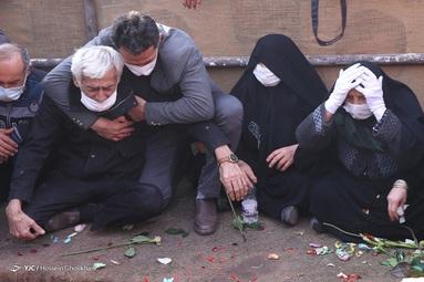 تشییع شهید مدافع وطن رضا اسد اللهی - قزوین