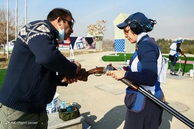 هفته ششم رقابتهای لیگ برتر تیراندازی به اهداف پروازی کشور