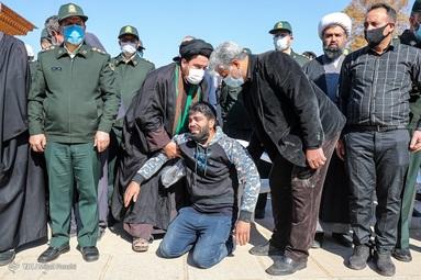 تشییع دو شهید نیروی انتظامی - شیراز