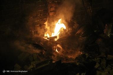 آتش سوزی در یک باربری در خیابان شوش  باعث دود شدید و ایجاد آتش سوزی در چند انبار این باربری شد.