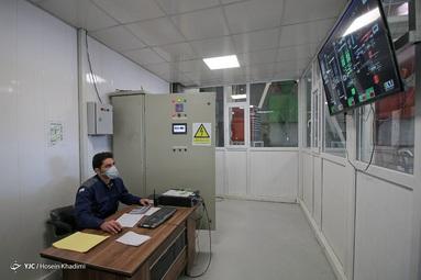 خط تولید کارخانه مکملهای معدنی و ویتامینه دام، طیور و آبزیان شرکت دانه چین - اراک