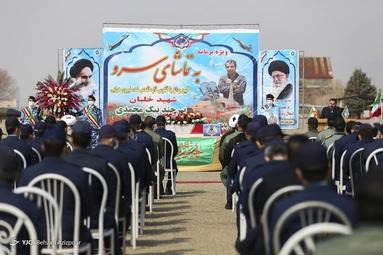 تشییع پیکر شهید خلبان تازه تفحص شده «بیرجند بیک محمدی» - تبریز