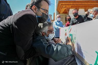 تشییع اولین شهید ناجا در ۱۴۰۰ - حرم مطهر شاهچراغ (ع) شیراز